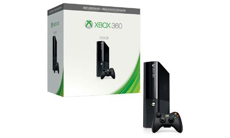 xbox 360 e console xbox 360 e 500gb with controller groupon goods