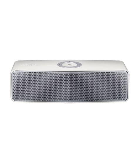 Speaker Bluetooth Lg lg np7550 portable bluetooth speaker white buy lg