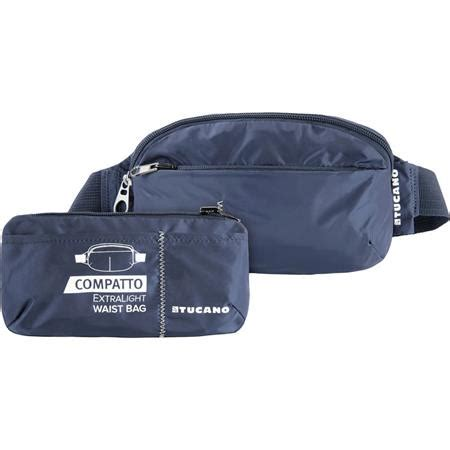 Waist Bag Eiger Regular Blue Tucano Compatto Mini Light Water Resistant Foldable