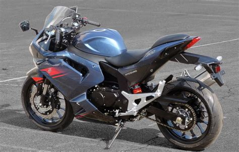 2017 Hyosung GT300R Concept Review