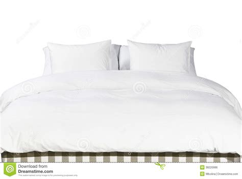 white bed pillows white pillows and blanket on a bed royalty free stock