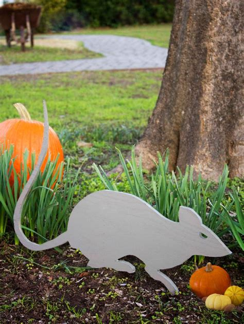 Cut Out Yard Decorations - how to make outdoor decorations for hgtv