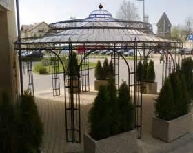 garten pavilion gartenpavillon metall verzinkt 216 550cm eleganz