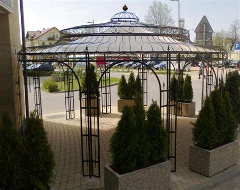 stabiler gartenpavillon stabiler gartenpavillon verzinkt metall 216 550cm pavillon