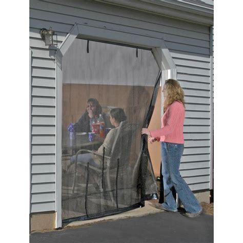 ideaworks single garage door screen shelterlogic 174 16x8 garage door screen 184889 pest