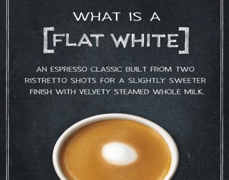 Starbucks Handcrafted Espresso - starbucks introduces the flat white to customers in the us