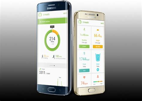 samsung health app samsung s health update brings new ui and features geeky gadgets