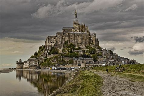 Michel Dotty mont st michel at low tide d0321 photograph by wes and