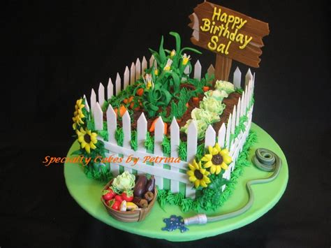 Vegetable Garden Cake Vegetable Garden Cake Specialty Cakes By Petrina Llc