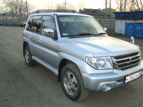 how does cars work 2004 mitsubishi pajero security system 2004 mitsubishi pajero io pictures 2000cc gasoline automatic for sale