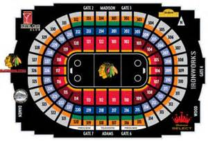 Nhl hockey arenas united center home of the chicago blackhawks
