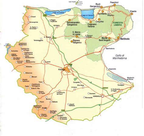 tavoliere delle puglie cartina provincia di foggia cartina e mappa
