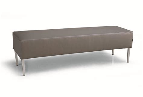 waiting benches padded benches with metal base for waiting rooms idfdesign