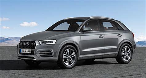 Ausstattungsvarianten Audi by Audi Q3 Q3 2015 Serienausstattung Preise