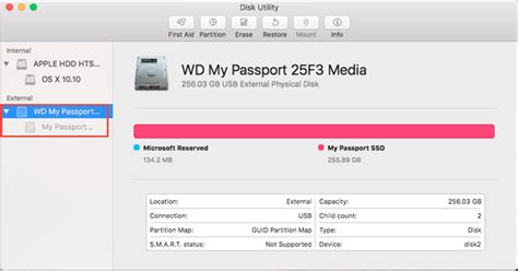 format new hard drive yosemite how to partition and format a wd drive on windows and