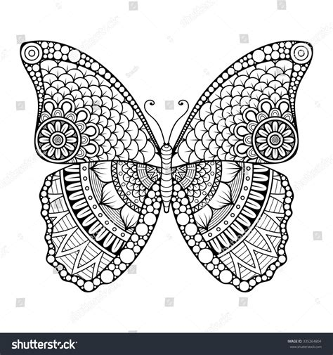 mandala coloring pages vector butterfly vintage decorative elements mandalas
