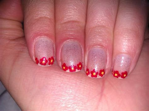 easy nail art tips red tip nail art designs quotes