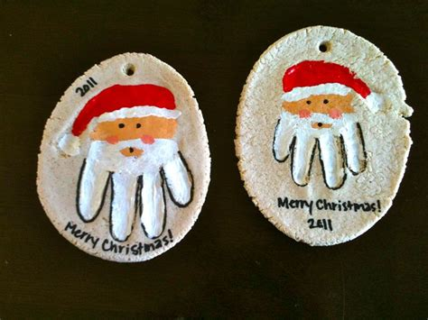 25 best ideas about hand print ornament on pinterest