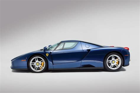rare ferrari enzo rare blu tour de france ferrari enzo bound for auction