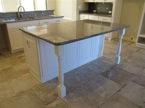 Kitchen Island With Legs by Friday The 13th Bluesaguaro