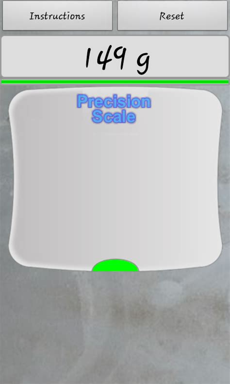 android scale app precision digital scale free app android freeware