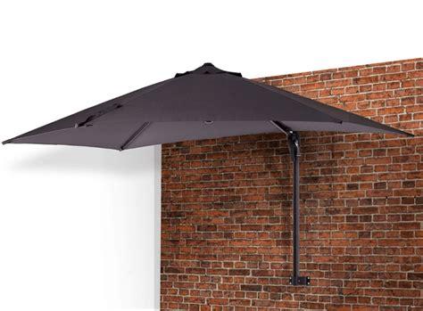 wall mounted patio umbrella umbrellas