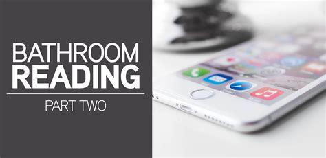 bathroom reading bathroom reading series part 2 mr rooter