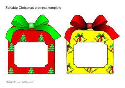 printable christmas cards sparklebox editable christmas present templates sb6623 sparklebox
