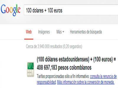 cuanto es un dolar en pesos cuanto es un dolar en pesos colombianos google nos ahorra