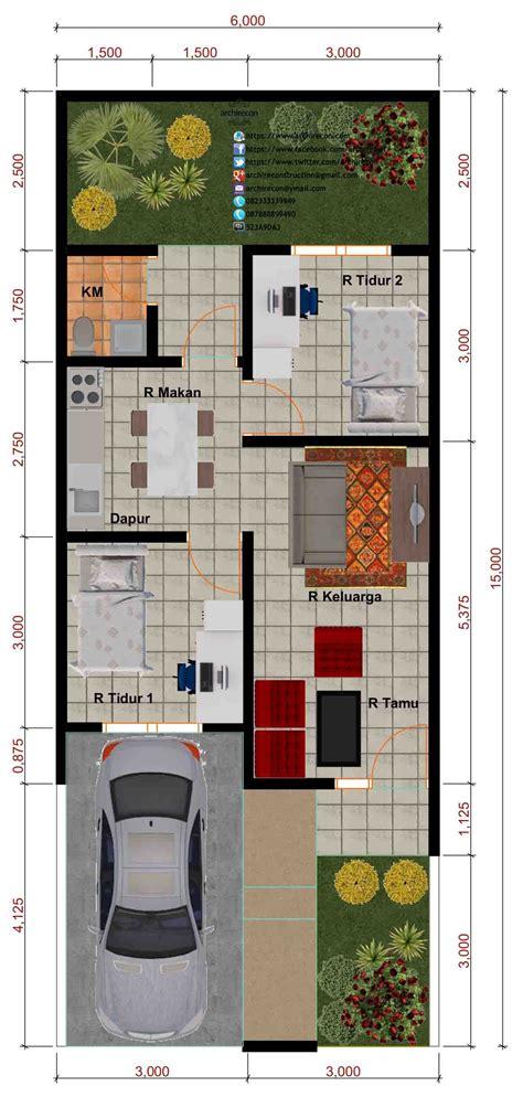 desain perumahan minimalis perumahan graha purwosari regency type  denah perumahan