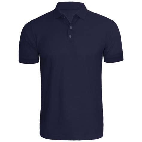 Plain Collared Coat new mens polo shirt sleeve plain pique top s