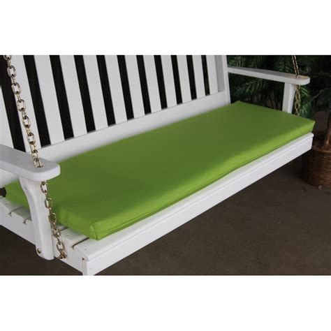 6 foot bench cushion 6 foot swing bench glider cushion