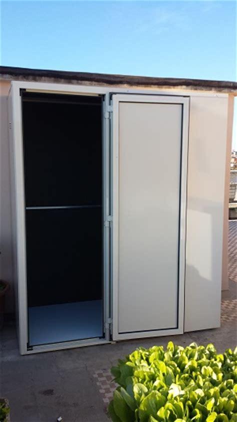 armadi in alluminio per balconi armadietti in alluminio per esterni armadio ante a