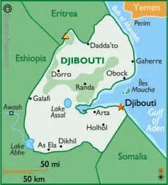 Djibouti Africa Map by Djibouti Map Newhairstylesformen2014 Com