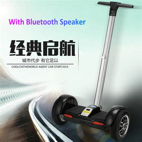 Hoverboard Handle Bar Smart Endurance Electric Unicycle Scooter 8 Inch the newest 10 inch electric self balancing scooter smart wheels unicycle hoverboard skateboard