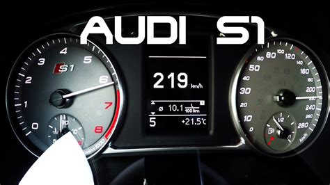 Audi S1 0 100 by Audi S1 0 100 Km H 100 200 0 60 Mph Acceleration Sound