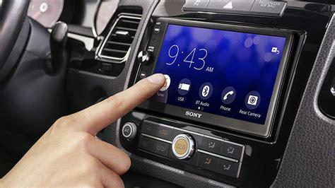 sonyden carplay ve android auto destekli arac ici eglence