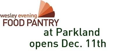 Wesley Food Pantry by The Wesley Pantry At Parkland College Wednesday Dec 11