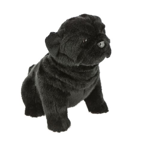 black pug soft pug black stuffed soft plush new 11 quot 28cm oreo bocchetta plush toys ebay
