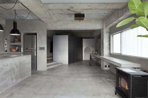 concrete apartment soak in design interior design a concrete apartment
