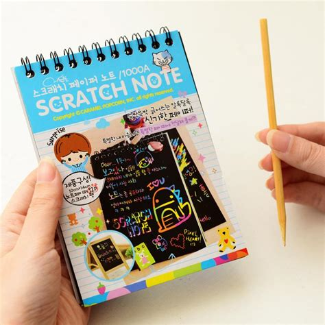 Souvenir Mini Notes Fancy Personalized Crayonpenggarispenghapus mini diary pocket planner cover notebook tiny memo note gift journal doodle fancy drawing