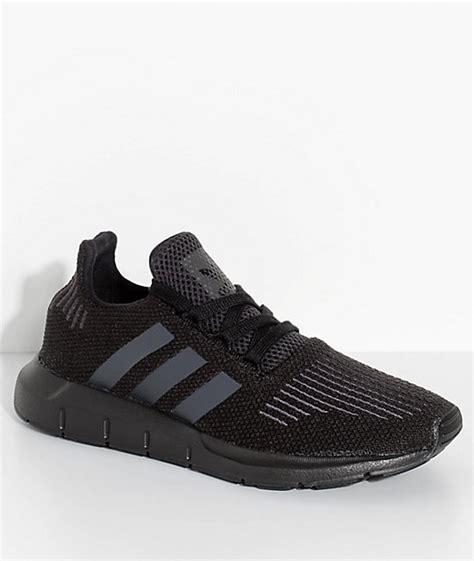 boys adidas shoes adidas boys run utility black shoes zumiez