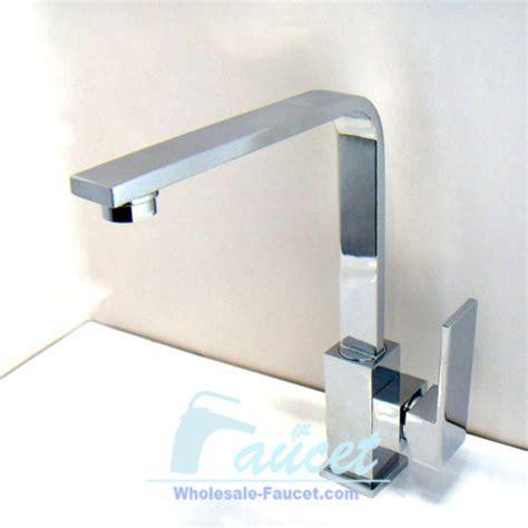 Square Kitchen Faucet Square Single Handle Chrome Kitchen Faucet Contemporary Kitchen Faucets By Sinofaucet