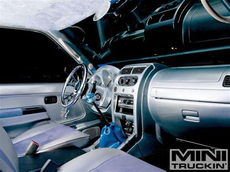 2002 nissan frontier interior 2002 nissan frontier custom air bagged trucks mini