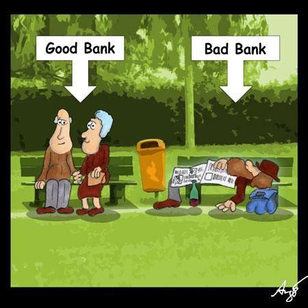 bank bad bad bank anjo politik toonpool