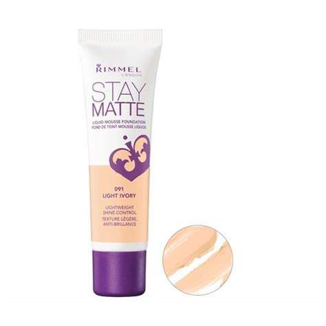 Produk Rimmel jual rimmel stay matte foundation light ivory