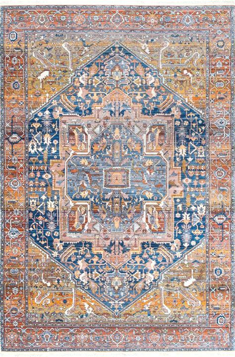 edessa tribal medallion fringe rug 1684 best new products images on area rugs