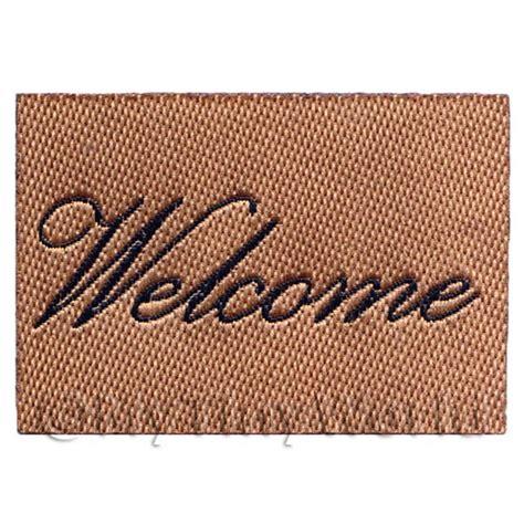 dolls house script dolls house miniature rugs and carpets dolls house miniature 53mm welcome mat black