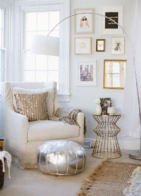 gold and silver home decor what s my home decor style modern glam