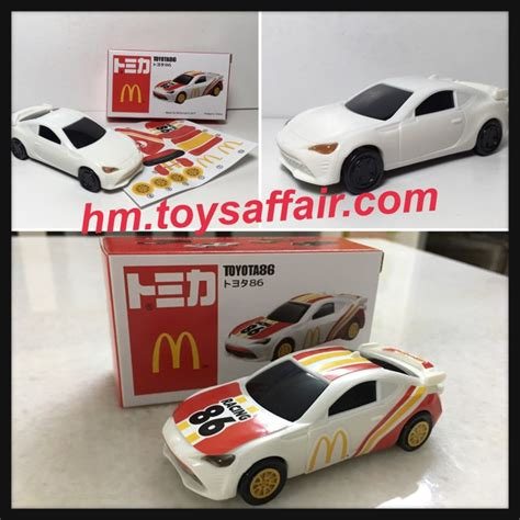 Tomica Set Hello hello sanrio and tomica happy meal toys